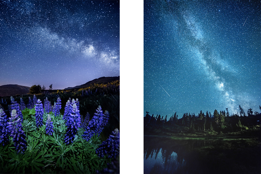 Night sky photography -